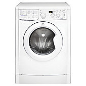 Indesit Ecotime Washer Dryer, IWDD 7143 (UK), 7KG load, with 1400 rpm - White