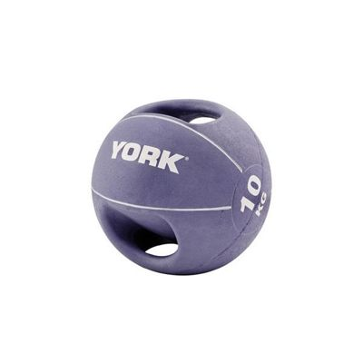 York 10kg Medicine Ball with Handles