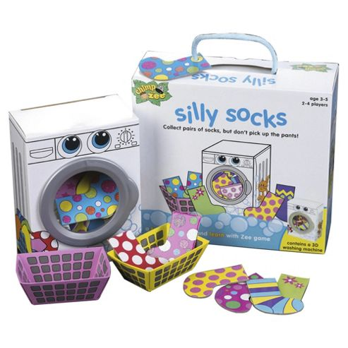 Chimp and Zee Silly Socks Board Game