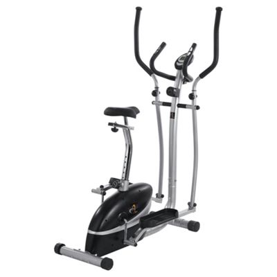 V-fit MCCT1 Magnetic 2-in-1 Cycle & Elliptical Trainer