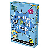 BrainBox Around The World Snap Card Game