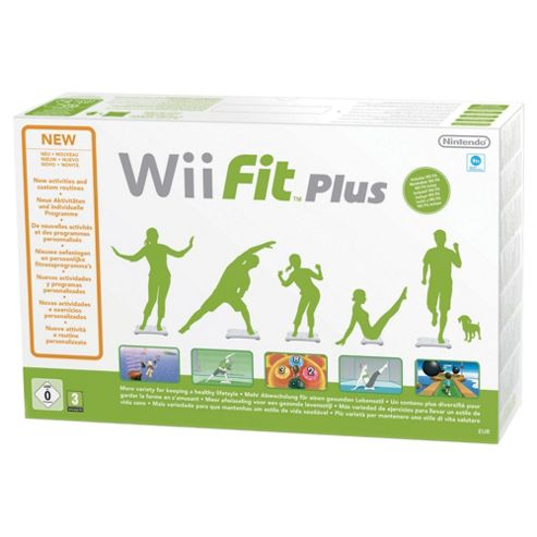 Wii Fit Plus Bundle - With White Balance Board