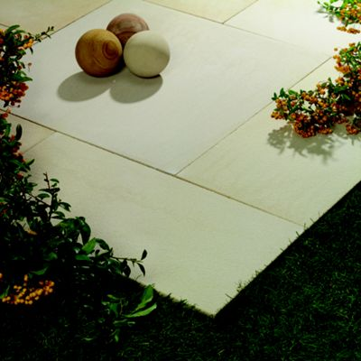 Natural Arabian Sand Patio Kit 5.76m2