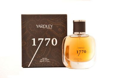Yardley 1770 For Men Eau de Toilette 50ml Spray For Him EDT Aftershave Homme