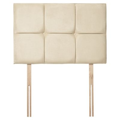 Seetall Fencott Faux Suede Single Headboard, Natural