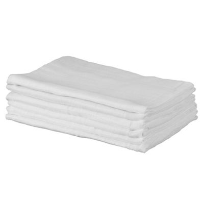 Tesco My Babys Muslin Squares 6 pack