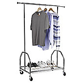 Clothes Rail with Shelf