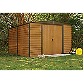 10x12 Woodvale metal shed