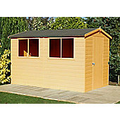 Classic Shed & Workshop 12x8 Apex by Finewood