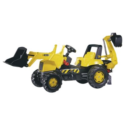 JCB Tractor with Loader & Rear Excavator