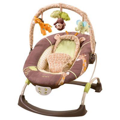 Summer Infant Carter's Wild Life Cuddle Me Musical Bouncer
