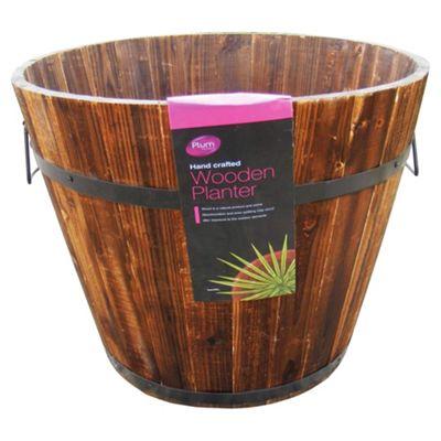 Plum Products LTD 45 cm Round Wooden Planter