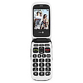 Doro PhoneEasy 612 Cellular Phone - Sim Free - Black