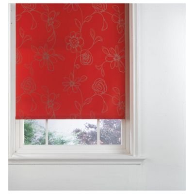 Designed Roller Blind, Clematis Red 60Cm