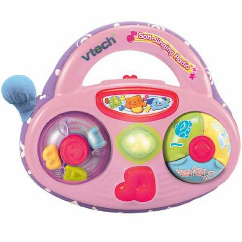 VTech Pink Soft Singing Radio
