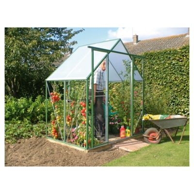 Norfolk 6x4 Steel and PVC Greenhouse