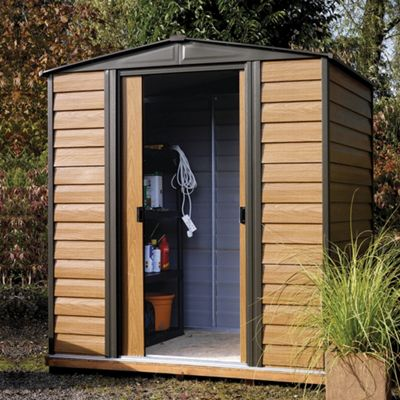 6x5 Woodvale metal shed