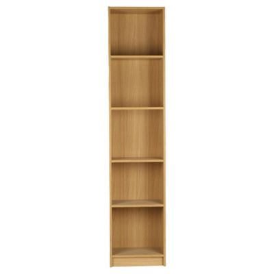 Fraser Oak Effect 5 Shelf Bookcase