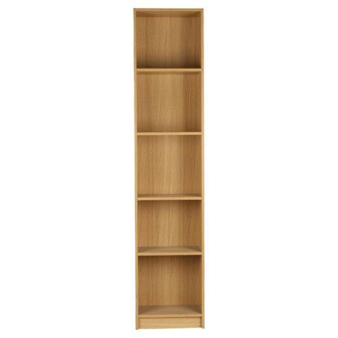 Fraser Oak Effect 5 Shelf Bookcase