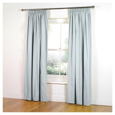 Tesco Faux Silk Curtains W117xL183cm (46x72