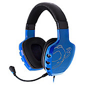OZONE Rage ST Advanced Stereo Gaming Headset, Blue (OZRAGESTB)