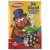 Playskool Mr Potato Head Giant Colouring Posters, 24 pack