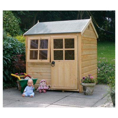 Finewood Pumpkin Wooden Playhouse with Installation, 4ft x 4ft