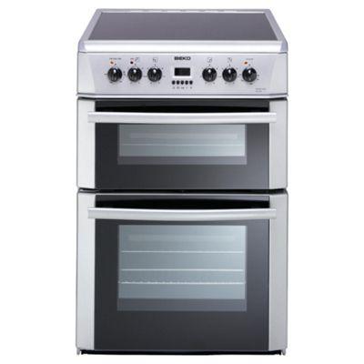 Beko DV665S Silver Electric Cooker
