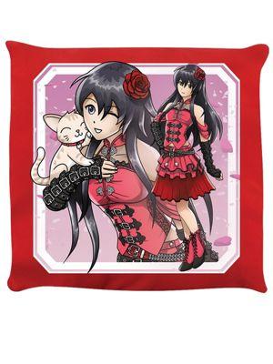 Tokyo Spirit Sakura Cushion 40x40cm Red