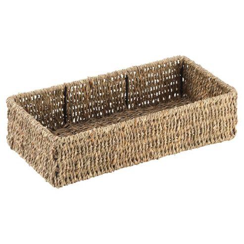 Tesco Seagrass Oblong Basket