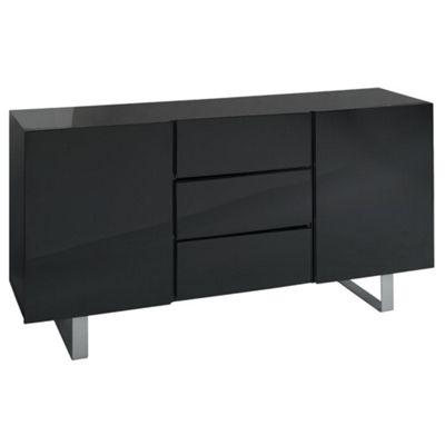 Costilla Sideboard, Black Gloss