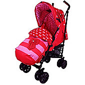 Zeta Limited Edition Vroom Complete Stroller (Bow Dots)