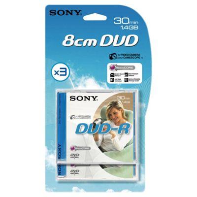 Sony Mini DVD-R 3 pack