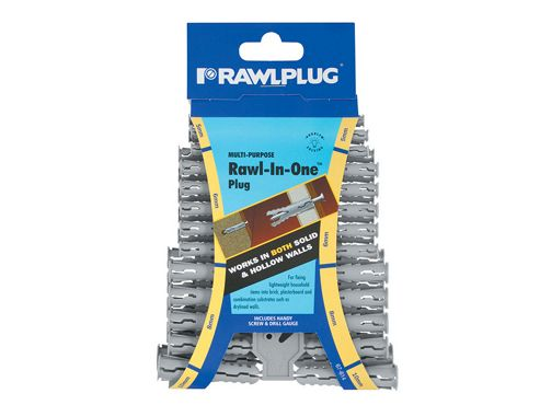 Rawlplug Rawl-in-One Plugs (Clip of 48)