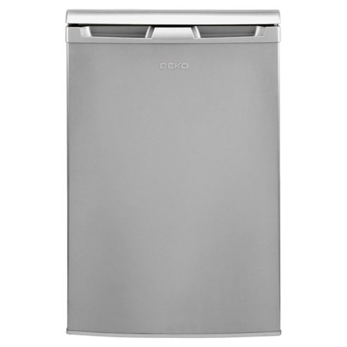 Beko ZA630 Upright Freezer, Freezer Capacity: 85 Litres, Energy Rating A, Width 54.5cm. Silver