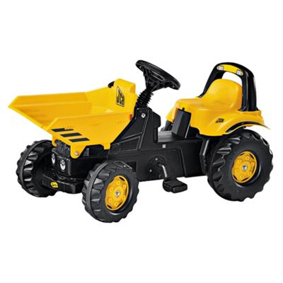 JCB Dumper Truck Pedal Ride-On