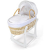 East Coast Rocking Moses Basket Stand (White)