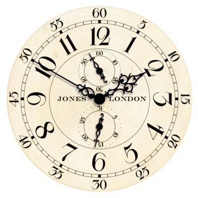 Jones & Co Charles Wall Clock