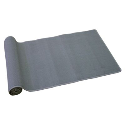 Washable Berber Utility Mat - Black - 67x120cm