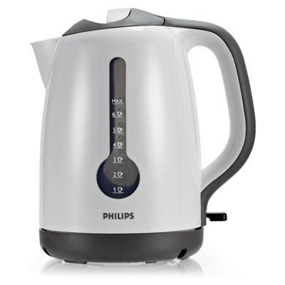 Philips 1.7L Plastic Kettle White