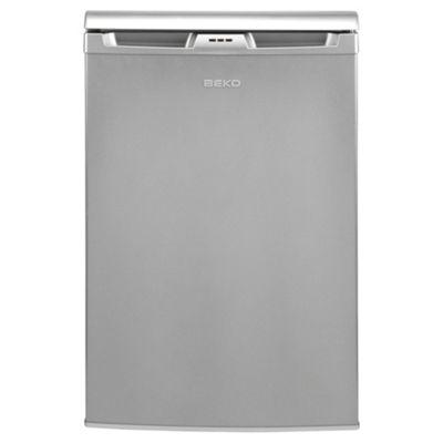 Beko LA620S Undercounter Fridge, Capacity 135 Litres, Energy Rating A, Width 54.5cm. Silver