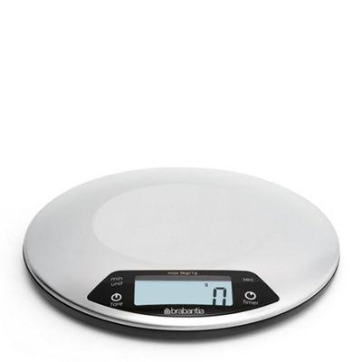 Brabantia Matt Steel Digital Kitchen Scale