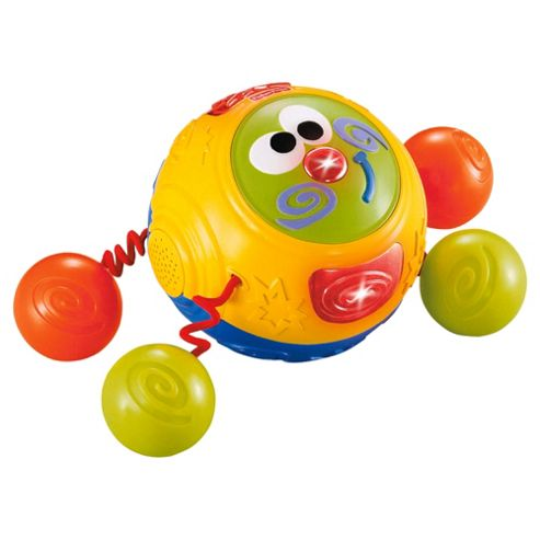 Fisher-Price Bright Beginnings Touch & Crawl Friend
