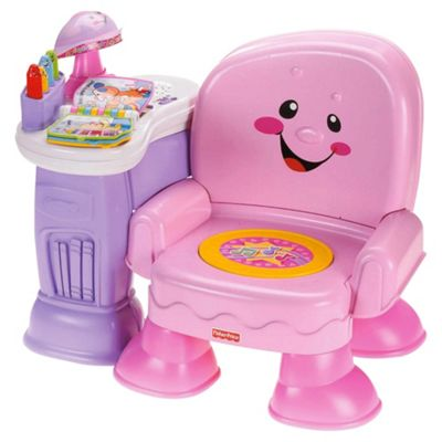 Buy fisher price laugh learn pink musical chair from our for Chaise musicale