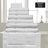 Belledorm Hotel Suite Madison 600 GSM Hand Bath Towel Sheet White - White
