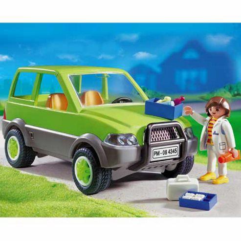 Playmobil Vet with Car