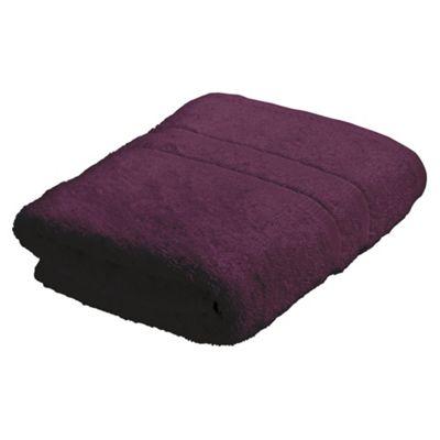 Tesco Hand Towel, Aubergine