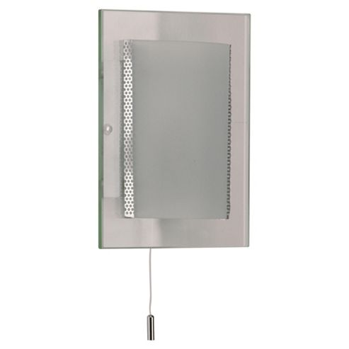 Tesco Lighting Frosted Glass Wall Fitting