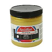 Speedball Acrylic Screen Printing Ink - Gold 236ml