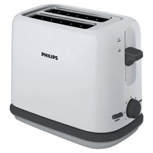 Philips HD2566 2 Slice Toaster - White